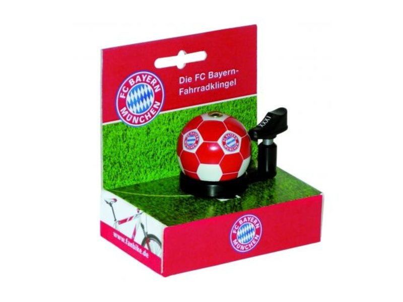 FC Bayern Munchen Fietsbel rood / wit