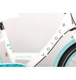 Volare Oma Dolce 20 inch meisjesfiets Shimano Nexus 3 wit / blauw