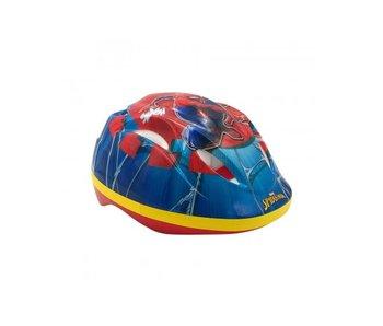 Ultimate Spider-Man Fietshelm 51 55 cm blauw geel rood
