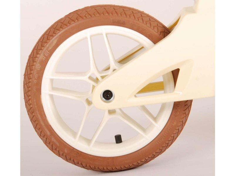Volare Crème 10 inch loopfiets crème