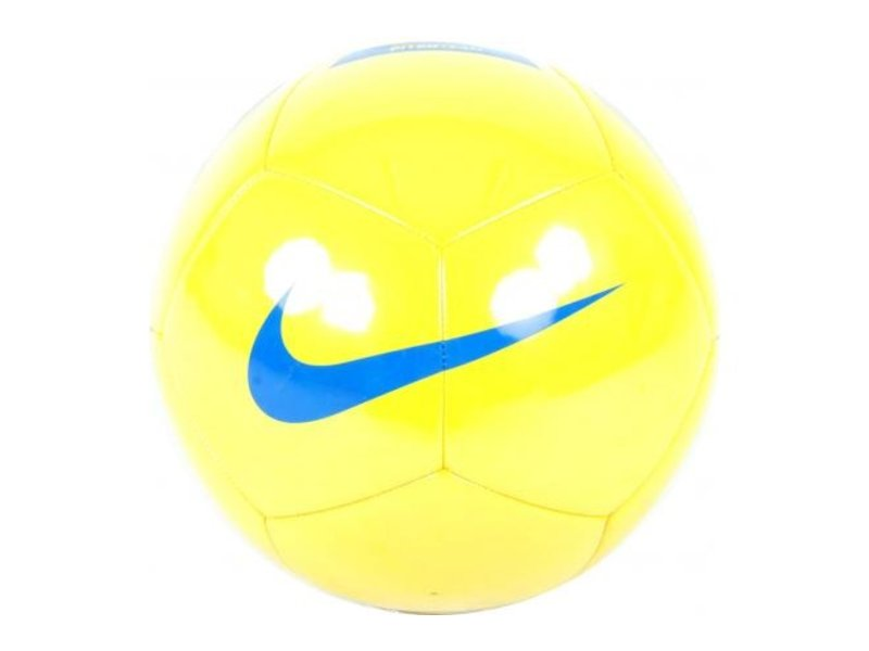 Nike Voetbal Pitch Team Maat 5 geel