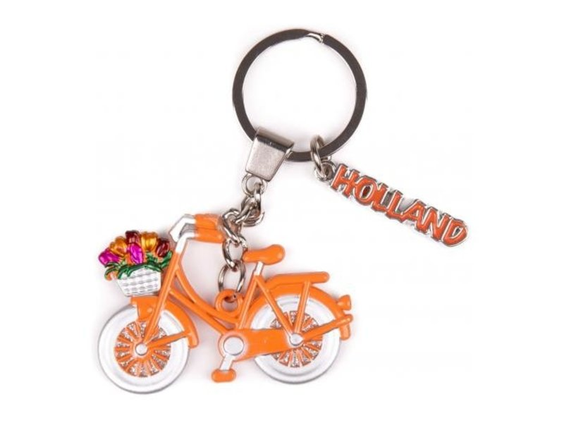 Sleutelhanger Holland met Bedel oranje