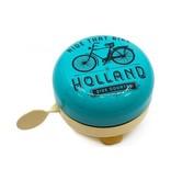 Holland Fietsbel Ride that Bike Vanille 58 mm blauw vanille