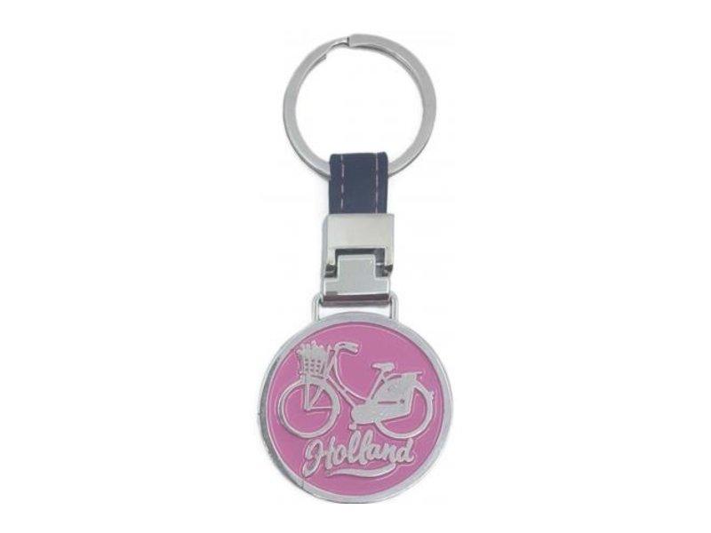 Sleutelhanger Monocolor Holland roze