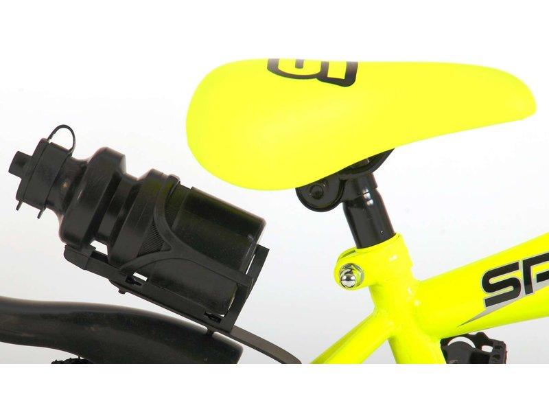 Volare Sportivo Neon 12 inch jongensfiets neon geel zwart