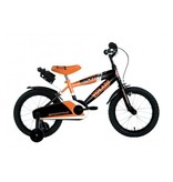 Volare Sportivo Neon 14 inch jongensfiets neon oranje zwart