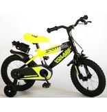 Volare Sportivo Neon 14 inch jongensfiets neon geel zwart