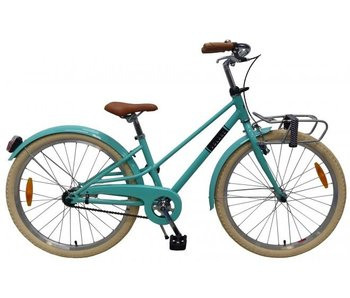 Volare Melody Turquoise 24 inch meisjesfiets turquoise