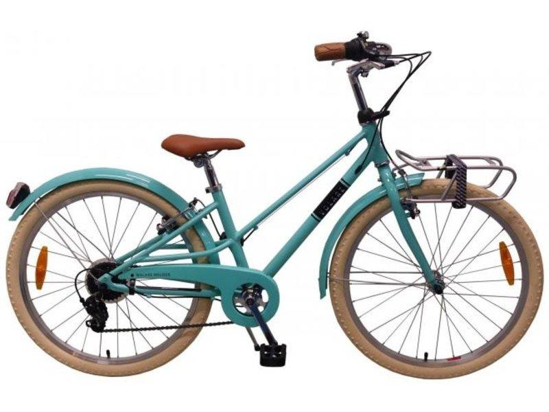 Volare Melody Turquoise 6 speed 24 inch meisjesfiets Ja, 6 versnellingen turquoise