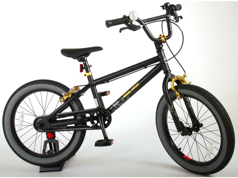 Volare Cool Rider 18 inch jongensfiets twee handremmen zwart