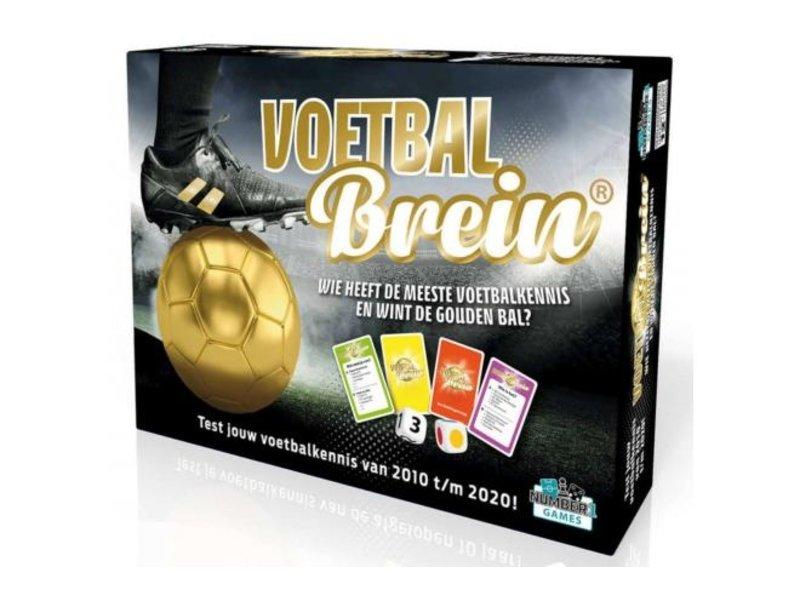 Number1 Games Voetbalbrein Bordspel multicolor