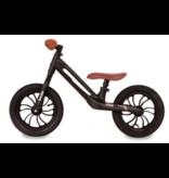 Q-Play Racer Magnesium 12 inch loopfiets zwart