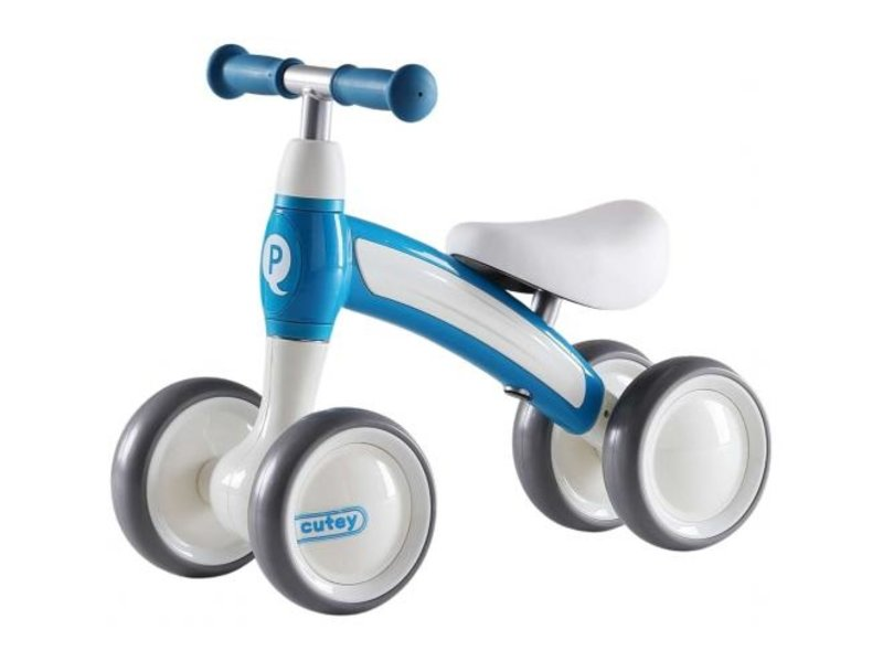 Q-Play Cutey Ride On loopfiets blauw