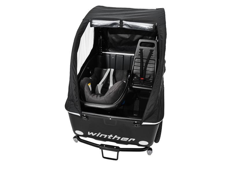 Winther Bikes Maxi Cosi adapter voor Cargoo bakfiets