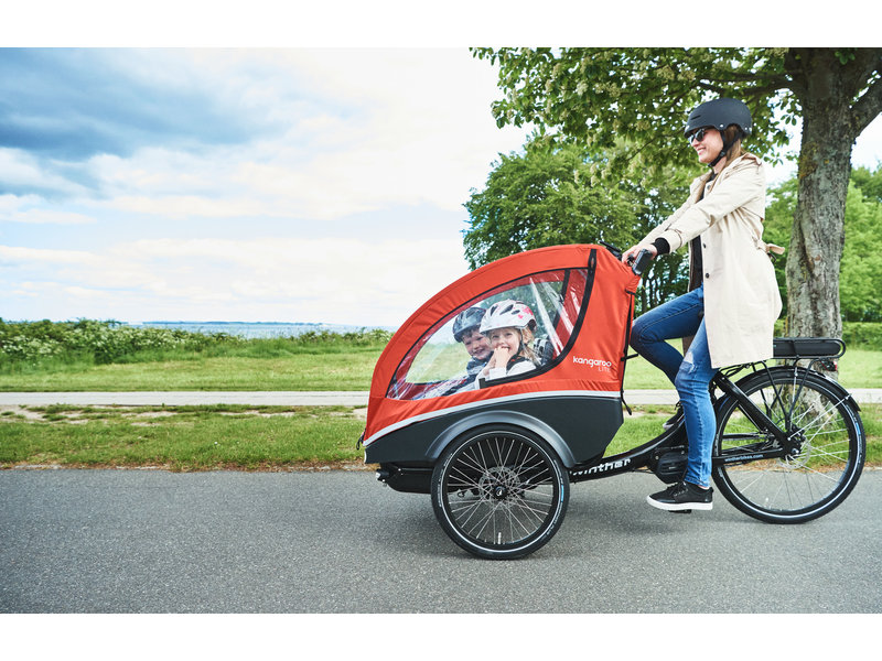 Winther Bikes Kangaroo Lite elektrische bakfiets