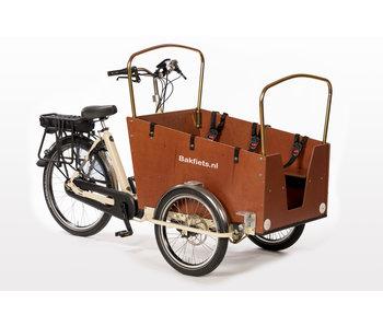 Bakfiets.nl Daycare Trike Steps elektrische bakfiets