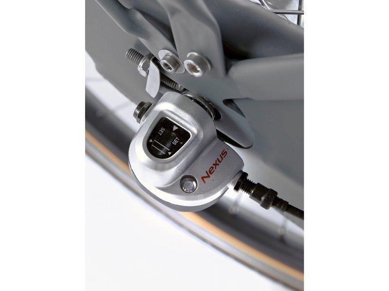 Cortina U4 Mini Solid Mouse Grey Matt R3 meisjesfiets