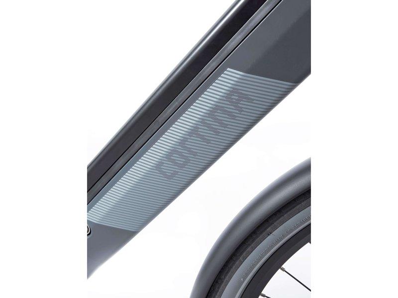 Cortina E-Blau Blue Grey Matt DB8 SDMM belt herenfiets