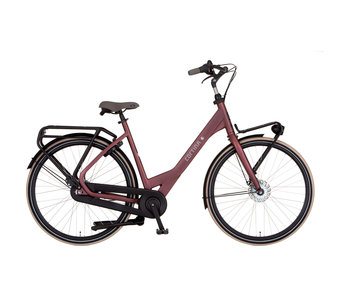 Cortina Common Family Black Red Matt ND7 familiefiets