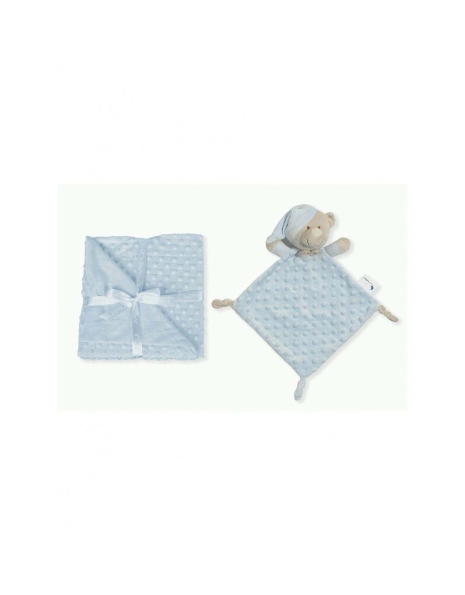 Babydeken en knuffeldoek ''Inter'' Blue
