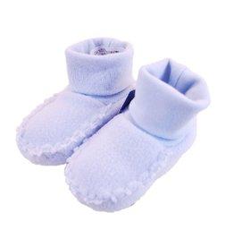 Baby slofjes  fleece ''Blue''