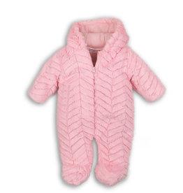 Skipak roze fake fur