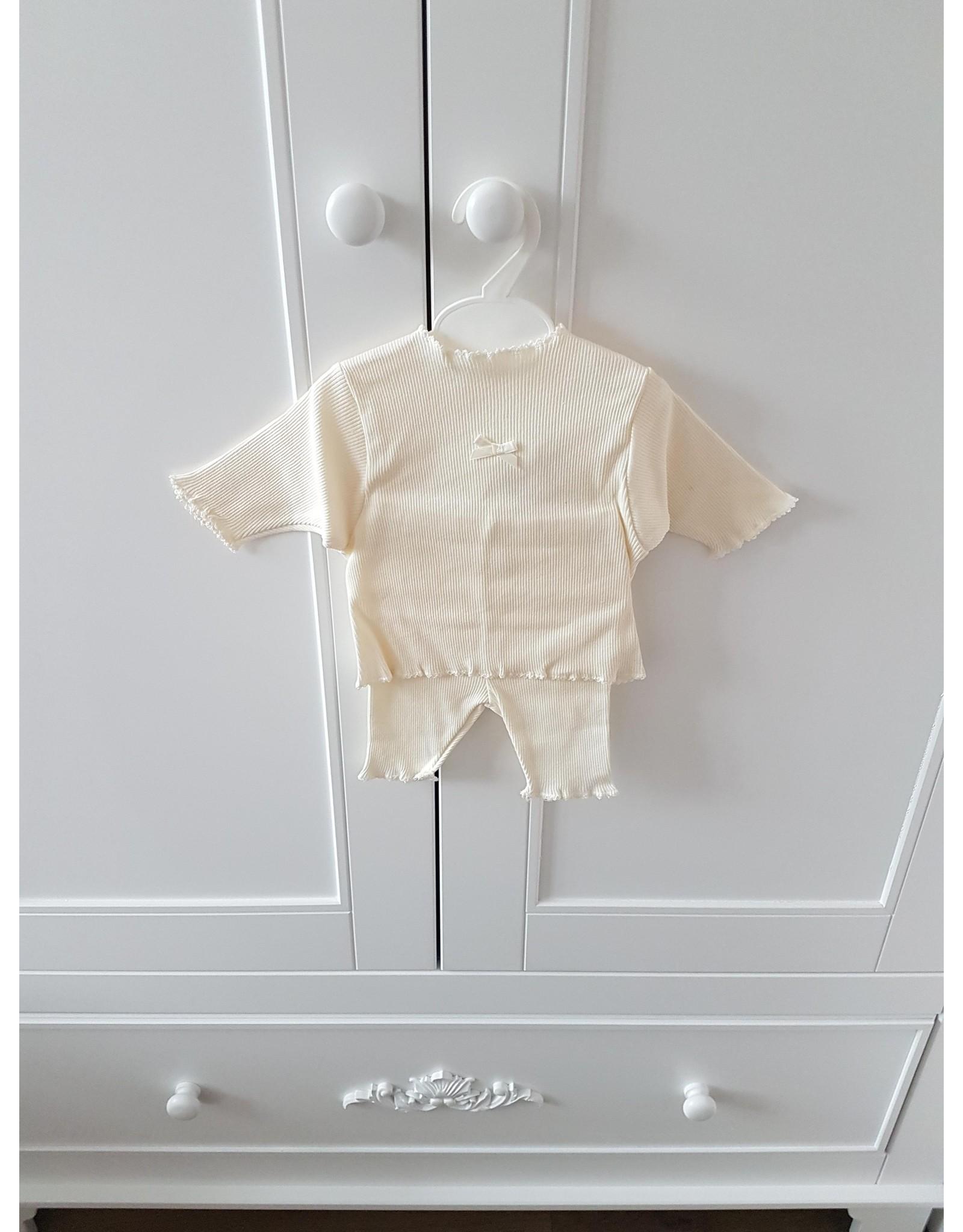 Babyblos pyjama white