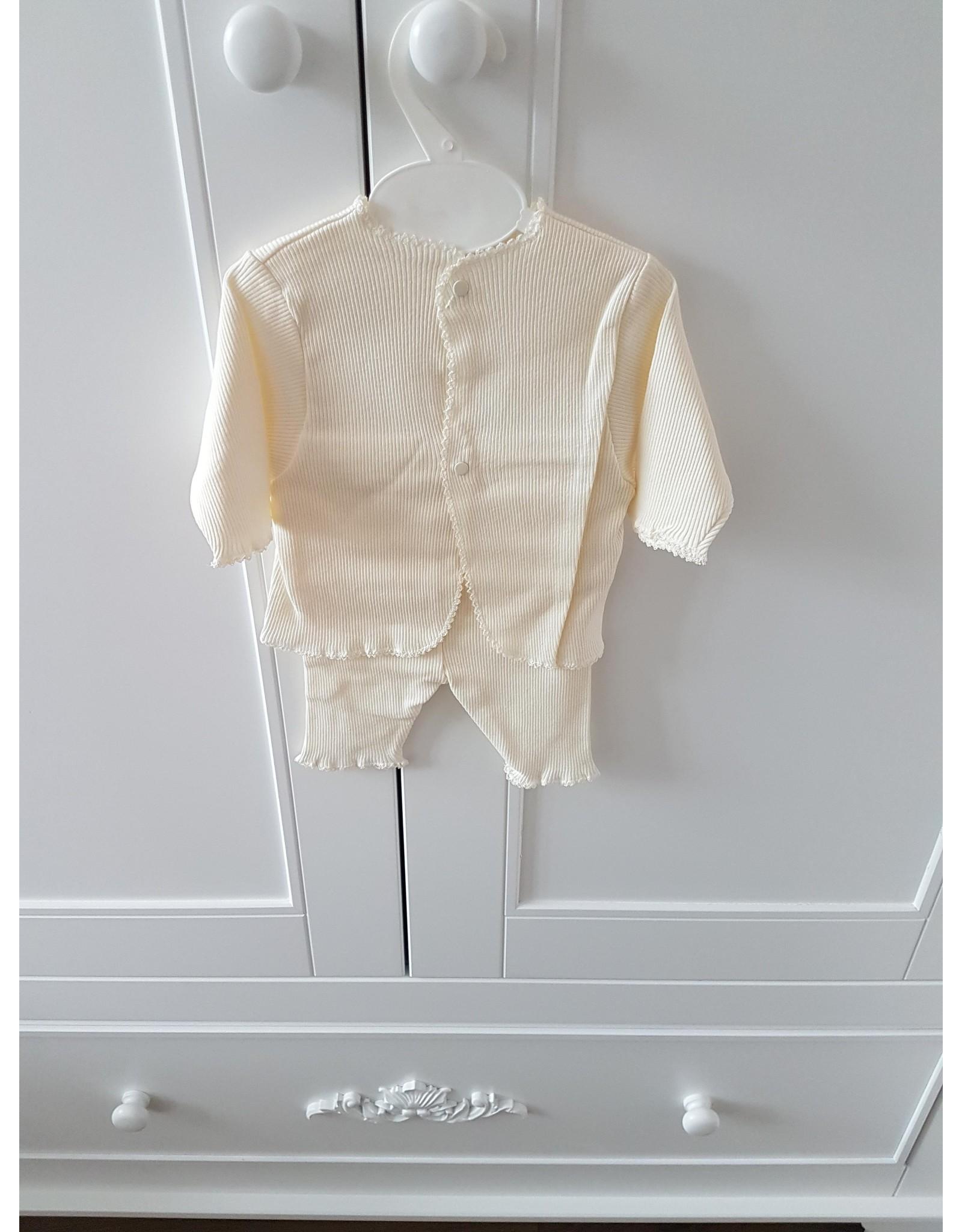 Babyblos pyjama Crème