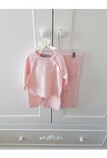 Babyset + deken 3-delig Roze