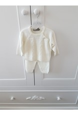 Babyset + deken 3-delig Ivory