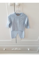 Babyset + deken 3-delig Blue