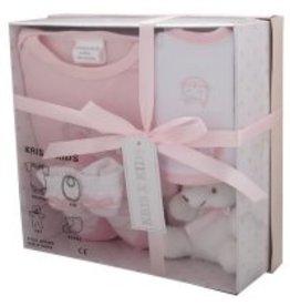 Giftset + teddy roze