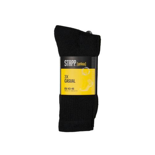 Stapp Stapp Yellow casual-werksok 3 pack