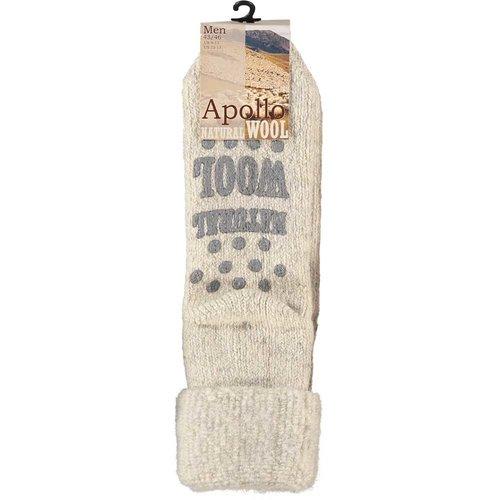 Apollo Wollen homesocks anti-slip
