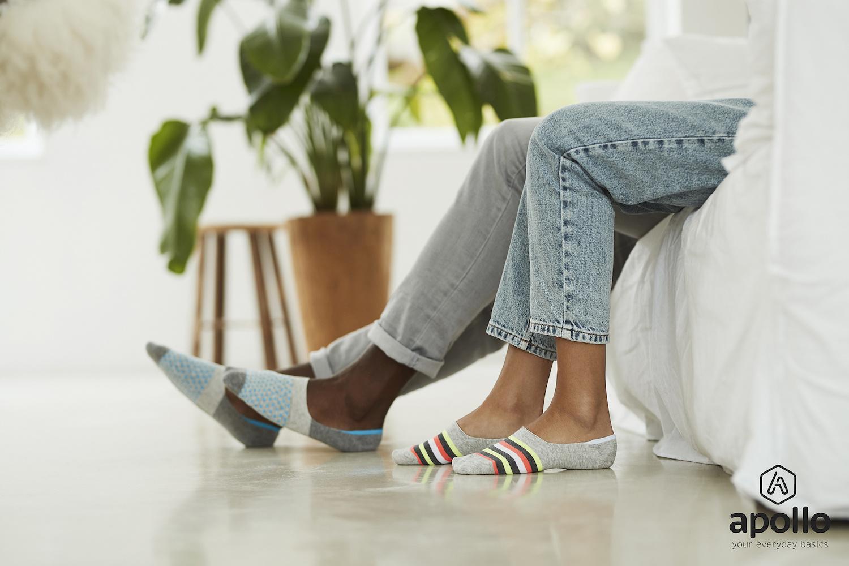 Apollo sneaker sokken