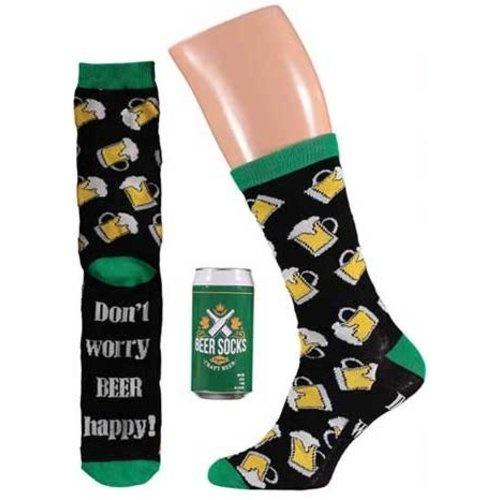 Bier sokken in blik