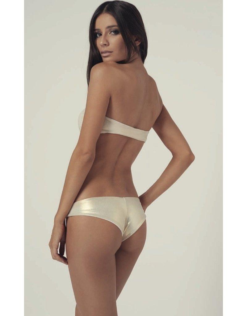 Melissa Odabash Melissa Odabash Gold Bikini Delevigne