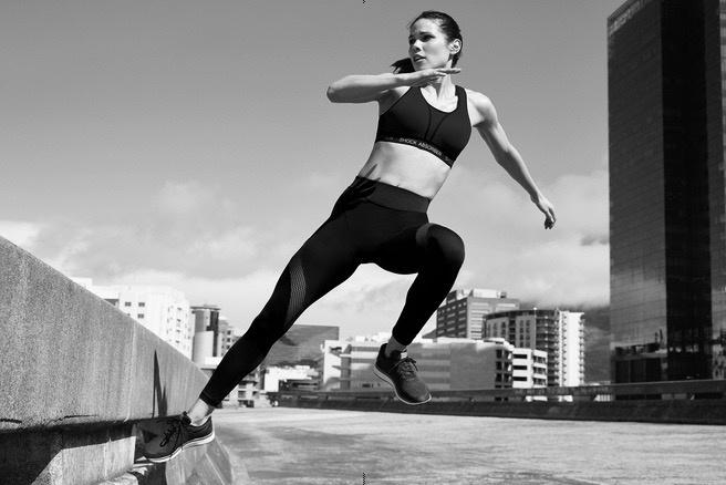 Sporten doe je met een sportbh!!!