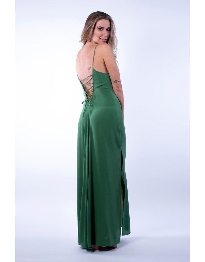 Lazul Lazul Emerald Jurk Anais