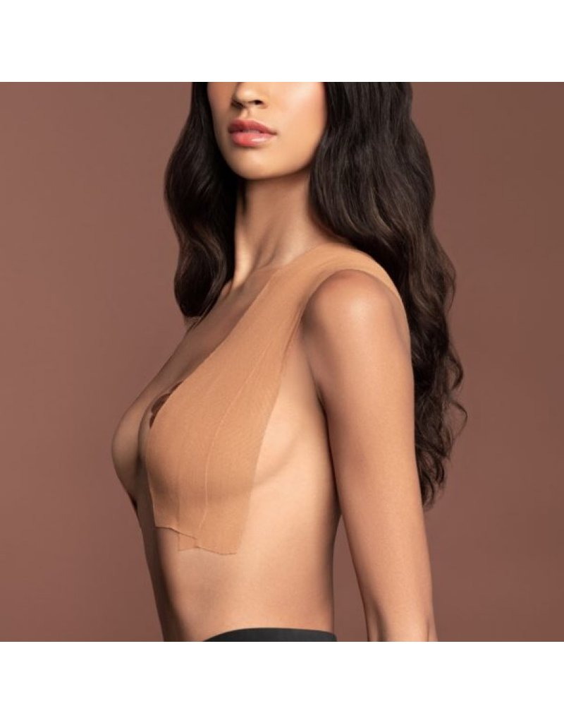 Bye Bra Bye Bra Body Tape Roll + silk nipple covers