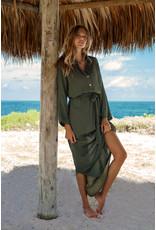 Melissa Odabash Melissa Odabash Alesha Olive Dress