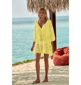 Melissa Odabash Melissa Odabash Ashley Lemon Short Dress