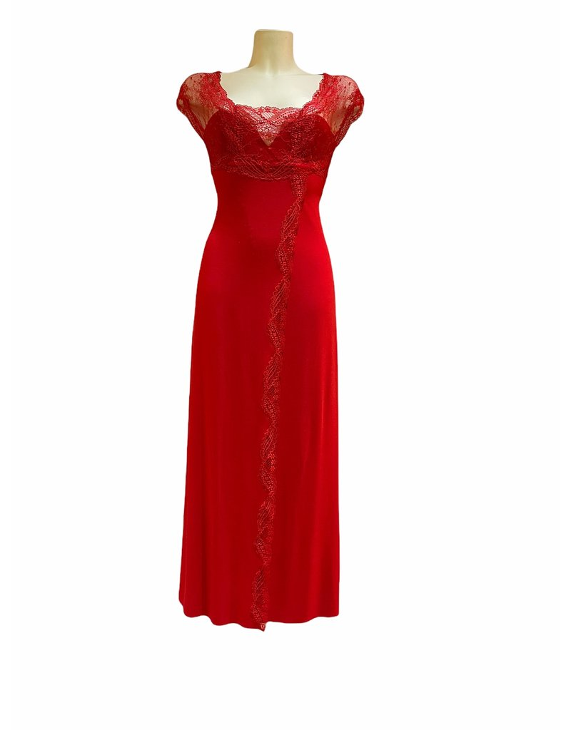 Paladini Paladini Couture Night Trilly Rosso Nachthemd