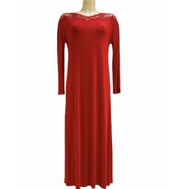 Paladini Paladini Couture Night Teresa Rosso Nachthemd
