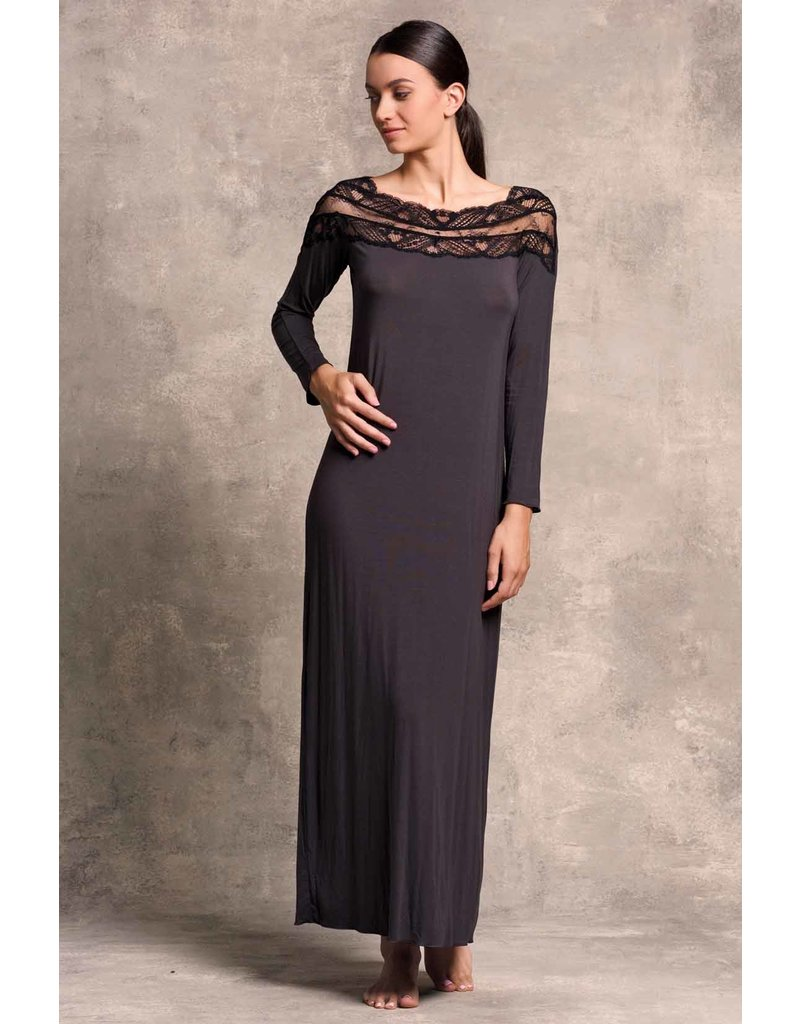 Paladini Paladini Couture Night Teresa Nero Nachthemd