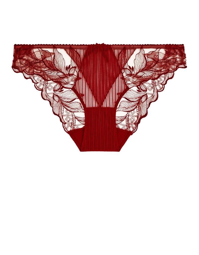 Aubade Aubade 'Fleur de Tattoo' Rouge Ecrin Slip TB27-6