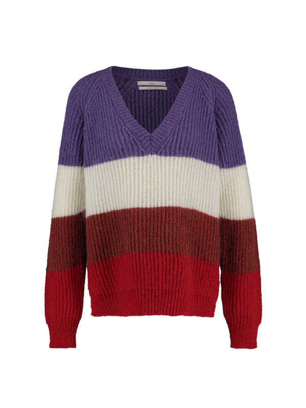 Aaiko Duffy Knit Sweater Multicolour