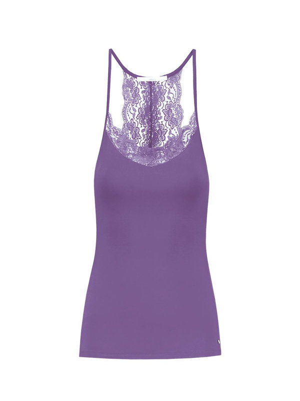 Aaiko Jolie Top Purple Plum