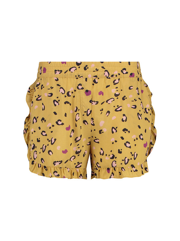 MELT Nomads Short Leopard Yellow
