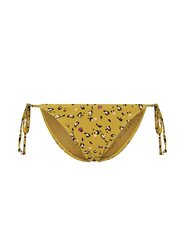 Melt Nomads Melt Nomads Leopard brief strings yellow bikini